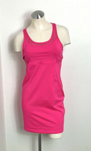 Fabletics Pink Compression Jersey Sport Dress size