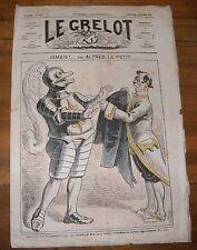 Le Grelot Journal Satirique N°132 Jamais ! Par Alfred Le Petit 19 Octobre 1873