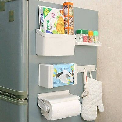5pcs/set Plastic Rack Storage Holder Organization for Refrigerator Kitchen JL