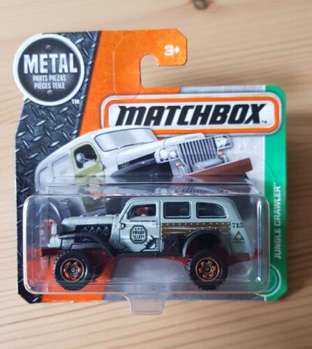 Matchbox Jungle Crawler 106//124 1:64 2016 Mattel