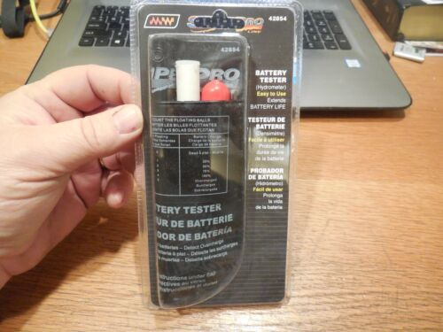 Make Waves Battery Tester Hydrometer 5 Ball Style Pocket Size #42854