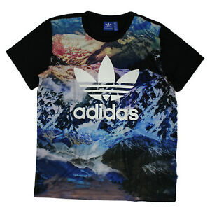Mountain anchas Originals Clover Adidas as monta de Tee vestido Boyfriend camisa qC514pfv