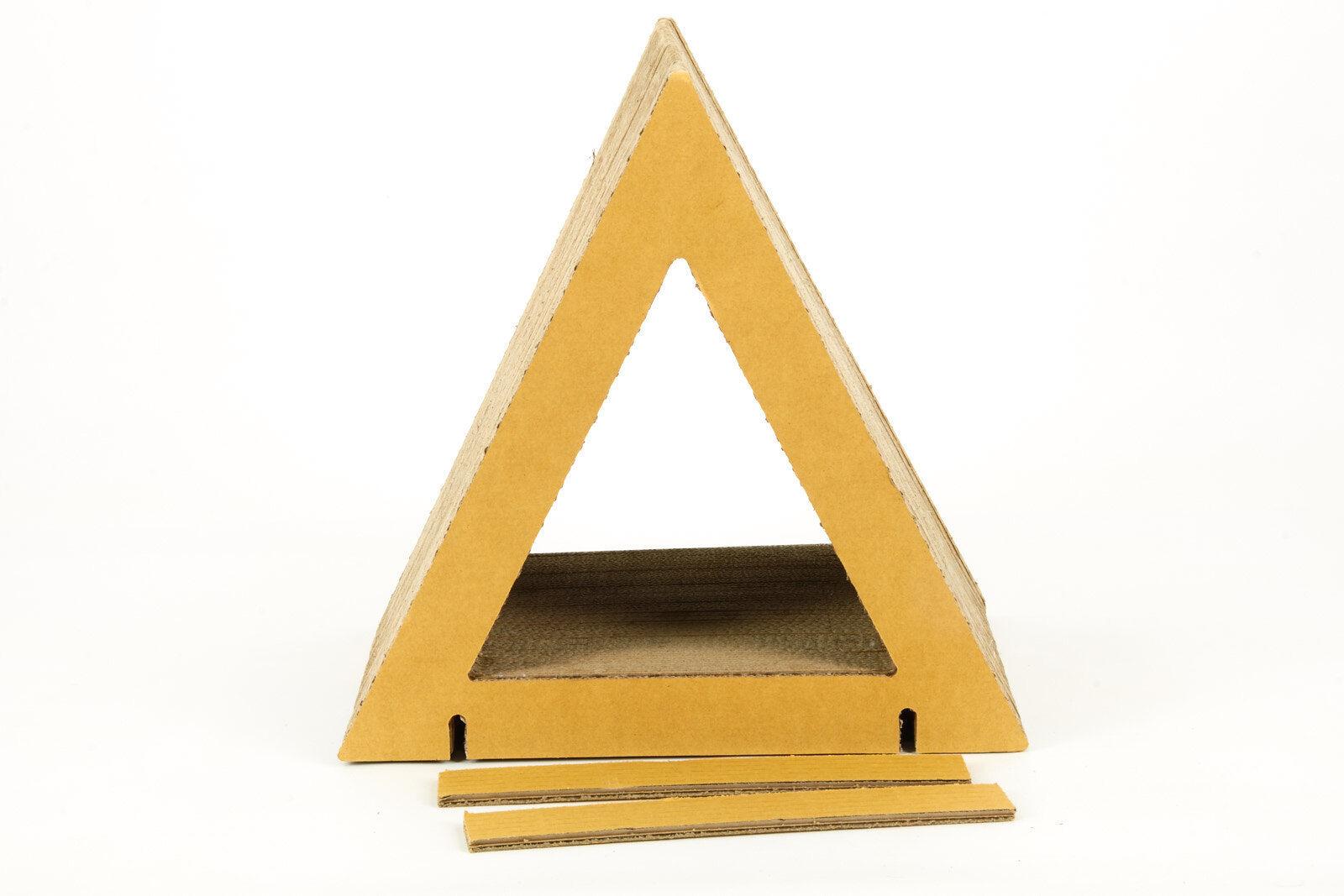 Home Triangle - Kratzmöbel und Stapelmöbel Stapelmöbel Stapelmöbel aus Pappe 40x40x30cm 0b057d
