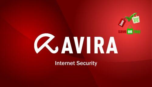 1 PC Windows 1 User With USB Avira Internet Security 2019-1 Year