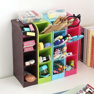 4 Compartment Storage Box Cosmetic Underwear Desk Bar Organizer Office Caddy