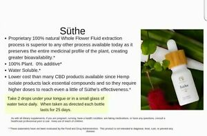 NEW-Unopen-SUTHE-by-Brizo-Pure-100-Flower-Extract-Fluid-17-Oz-Herbal-Health