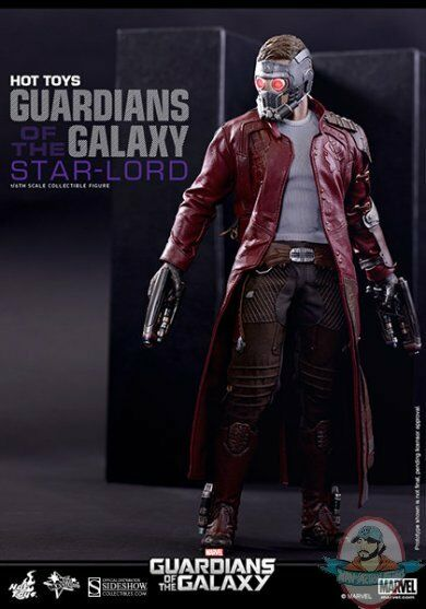 1 6 Scale Guardians of the Galaxy Star-Lord Figure Starlord Hot Toys