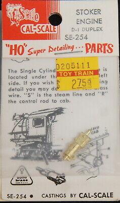 """Cordiale Ottone/brass Cal-scale 254 Stoker-einzylinder-attacco Tipo """"d1""""-nder-antrieb Typ """"d1"""" It-it Mostra Il Titolo Originale Facile Da Riparare"""