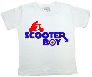 Dirty Fingers Cool Boy T Shirt Scooter Boy Vespa Mod Bike
