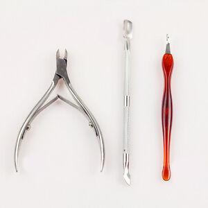 3-piezas-de-arte-en-Unas-Manicura-Herramientas-Set-Utensilio-Removedor-Pinza-Clipper-Kit