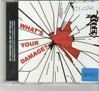 (FR554) Test Icicles, What's Your Damage? - 2006 DJ CD