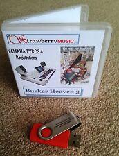 Busker Heaven 3 (800+ REGISTRATIONS) for Tyros 4 Regi-stick USB Tyros software