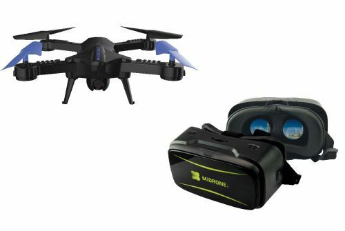 MIDRONE VISION 220 HD FPV WiFi DRONE QUADCOPTER iOS ANDROID VR GOGGLES CASE NEW