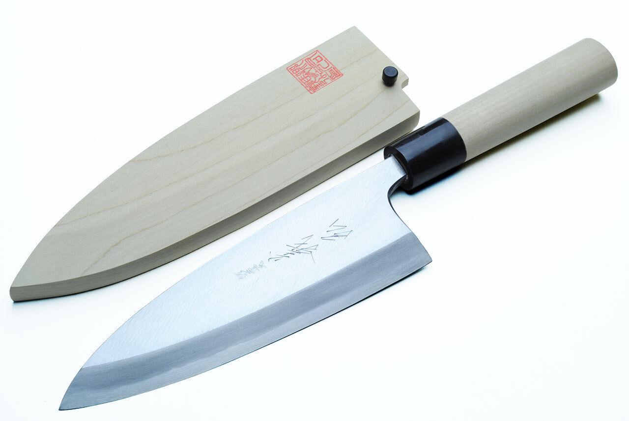 yoshihiro shiroko left handed kasumi deba fillet japanese sushi chef knife. Black Bedroom Furniture Sets. Home Design Ideas