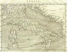 Carta Geografica Italia -  Tolomeo 1620 - Antonio Magini