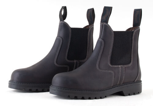 Rhinegold Tec Steel Toe Safety Work Boots Jodhpur style  Certified CE20345 SB