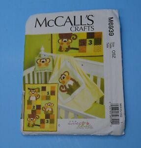 McCalls Crafts sewing pattern M6939 Door Decor blanket & quilt