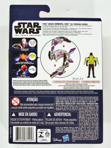 "HASBRO STAR WARS THE FORCE AWAKENS 3.75/"" SPACE MISSION FIRST ORDER General Hux"