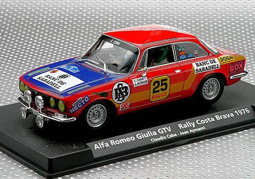 Fly A801 Alfa Romeo GTAv - Rally Costa Brava 1976 New 88127