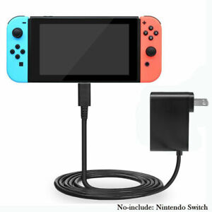 AC-Power-Adapter-Wall-Travel-Charger-Charging-Cord-For-Nintendo-Switch-USA