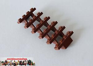 Lego-30134-Treppe-Leiter-Stairs-7X4X6-Rotbraun-Reddish-Brown-NEU