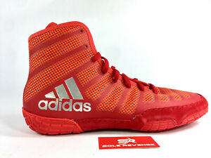 Details about ADIDAS adizero VARNER 2 Wrestling Shoes MMA Boxing Red Silver Gray BA8023 cd1