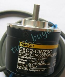 Omron-E6C2-CWZ6C-Rotary-Encoder-60P-R-New