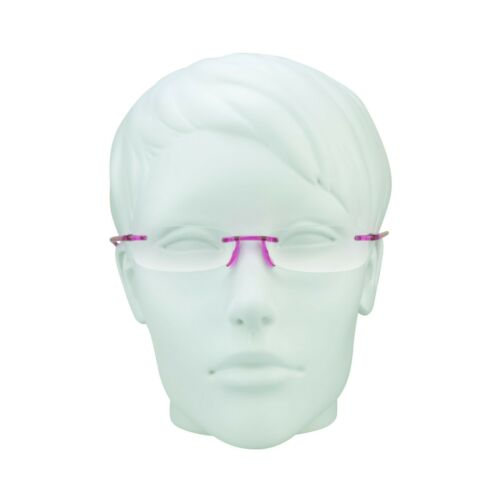 789a2915b1 2 of 3 Reading Glasses Full Lens Readers Rimless 1.00 - 4.00 Lightweight  Women Mens