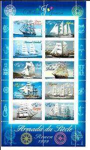 Ensoleillé France 1999 Bloc Armada Du Siècle N°25 Neuf ** Luxe Cote 6€