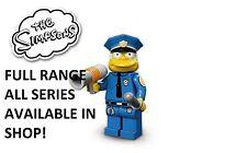Lego Minifiguras jefe Wiggum Los Simpsons 1 (71005) Nuevo Series Sellado de fábrica