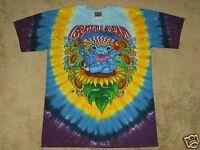 Grateful Dead Guru Bear M, L, XL, 2XL Tie Dye T-Shirt