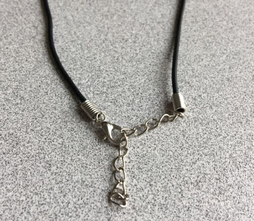 Sterling Silver Crucifix Cross Pendant Necklace High Polished and Handmade