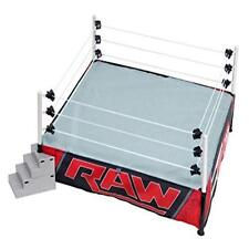 """Wwe Authentic Scale Ring Raw Edition For 6"""" Figures 22"""" X 22"""" Wwf Real Toy Play"""