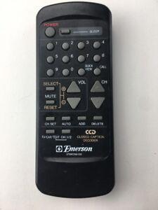 Details about EMERSON 076M056100 TV REMOTE CONTROL MODELS: TC1972D, 2556D,  TS2587D