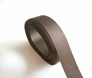 Brown-Ribbon-marron-Gros-Grain-Ruban-1-in-environ-2-54-cm-de-Large-x-10-metres-Offray-Ruban