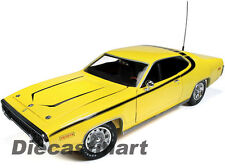 1971 PLYMOUTH SATELLITE DUKES OF HAZZARD YELLOW 1:18 BY AUTOWORLD AWSS105