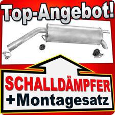 Endschalldämpfer FIAT STILO 1.6 16V 103PS 2001-2006 Auspuff CDA