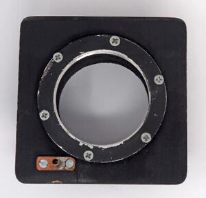 Deardorff 4x5/5x7 Lens Board With Mount For Shutter & Copal #3 Flange