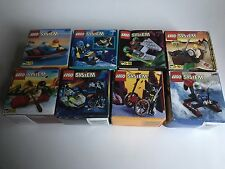 8 Lego System Sets New Sealed 1997 Good Condition Please See Photos
