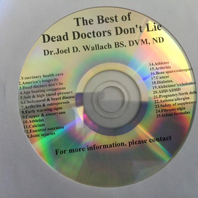 dead doctors dont lie