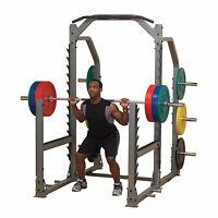 Body Solid Pro Club Smr1000 Multi Press Rack - Full Commercial Strength Training