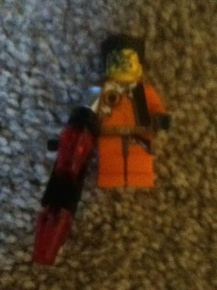 LEGO 8637 - AGENTS - Fire Arm - MINIFIG   MINI FIGURE - Very Rare