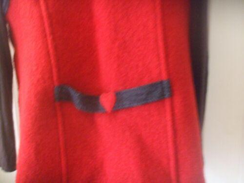 Made Sweater In Vest Uld Virgin 00 Medium Italy Størrelse Kaufmann Red nxvYz