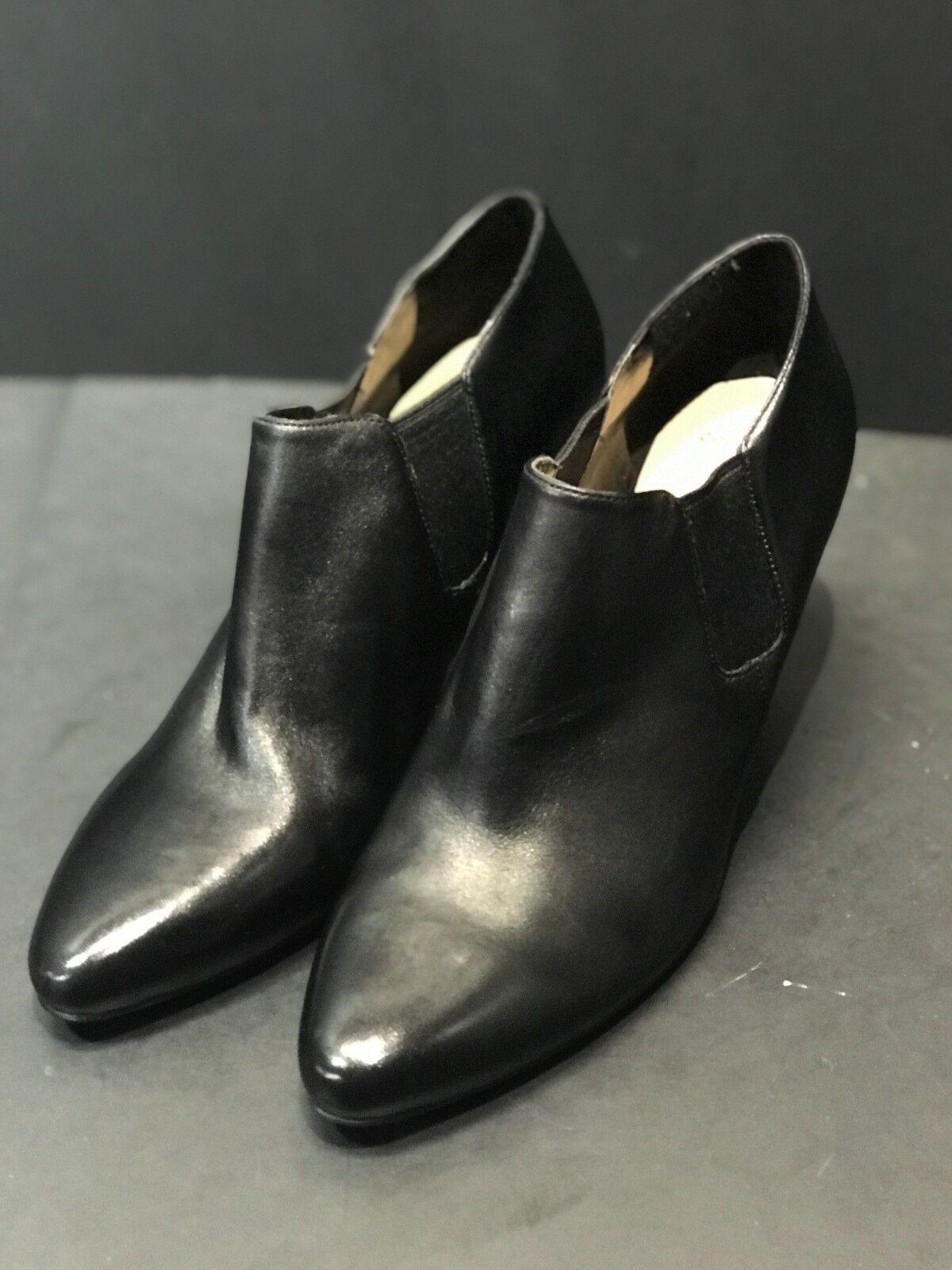 COLE HAAN schwarz schwarz schwarz HEELS LEATHER damen StiefelIES Größe 10 B NEW 315e4c