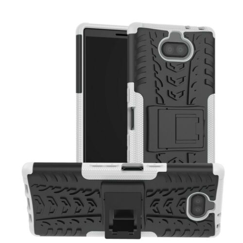 Hybrid funda móvil-funda #c50 para Sony Xperia 10 plus funda protectora protección-cáscara