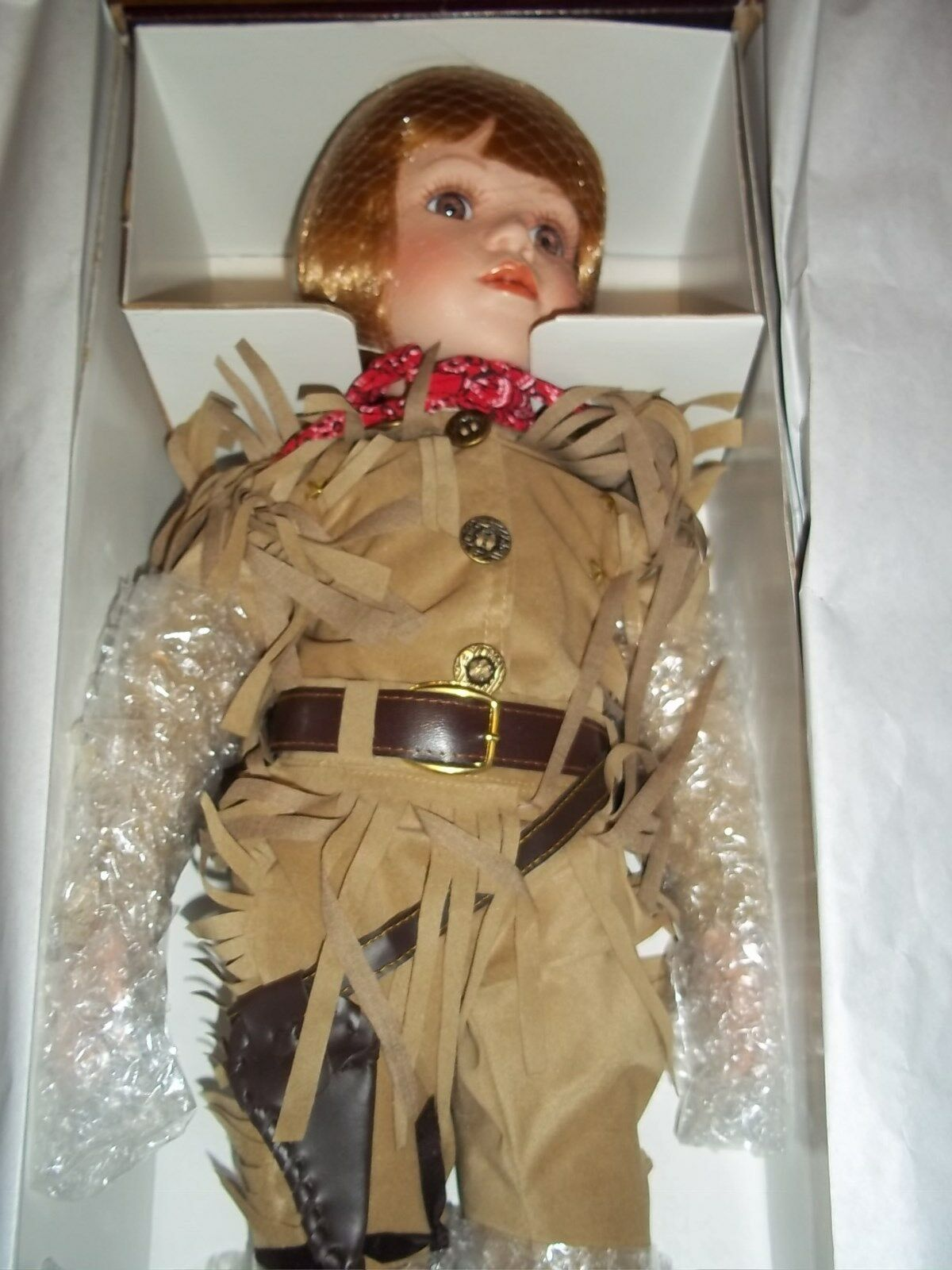 The Duke  Porcelin Doll from from from   The Timeless Collections   NIB a7ad21