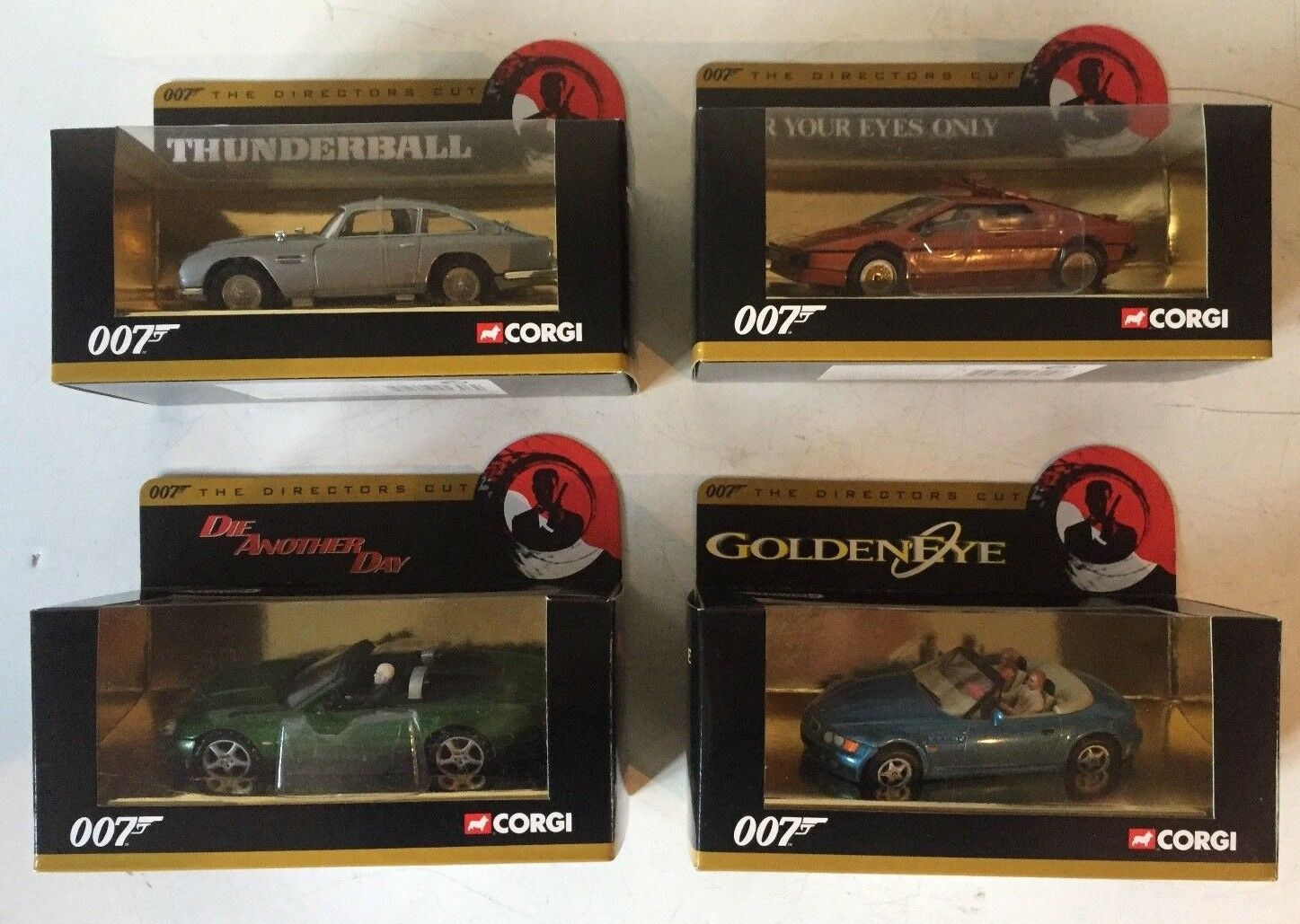 CORGI James Bond 1 36 Aston Martin 04306 Lotus. 04704 Jaguar 07603 BMW 04904
