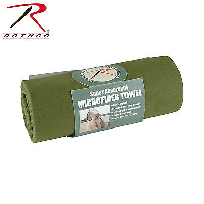 Us Military Army Acu Outdoor Towel Handtuch Olive Drab Od Green