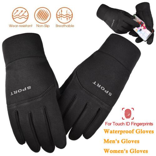 Men Womens Touch Screen Winter Warm Windproof Watrerproof Outdoor Driver Gloves
