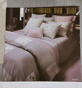 Olivier desforges housse de couette hanami 140x200 cm coton peigne gris imprime ebay - Housse de couette desforges ...